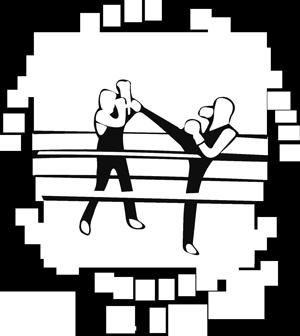 Logo Boxe Française Craponne